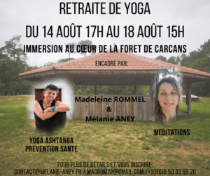 Internships - Retreats Prévention Yoga Massage