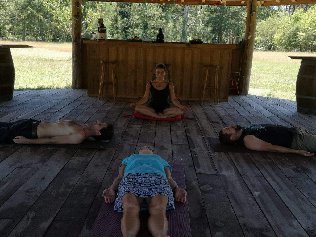 14 - 18 août 2020 : Retraite de Yoga au cœur de la nature, près de Bordeaux Prévention Yoga Massage