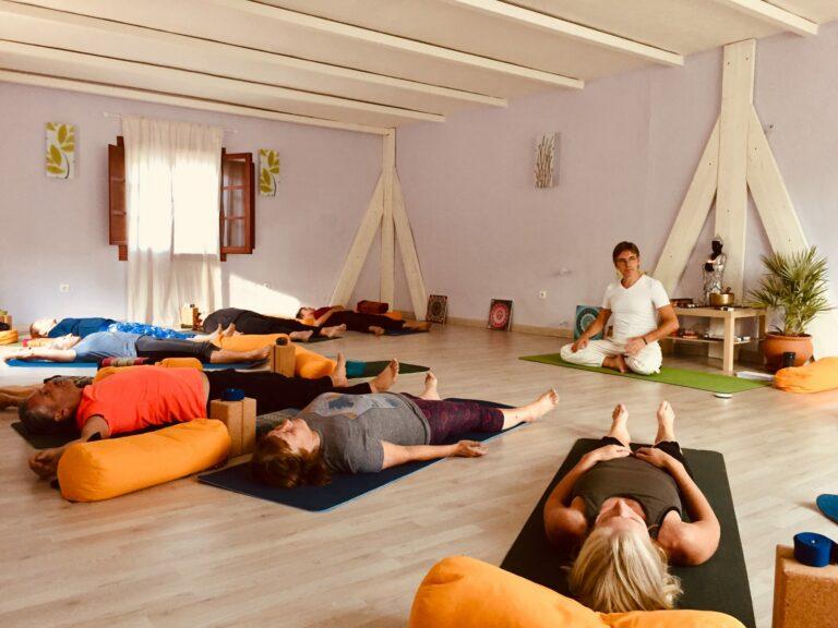 Retraite Yoga en Andalousie