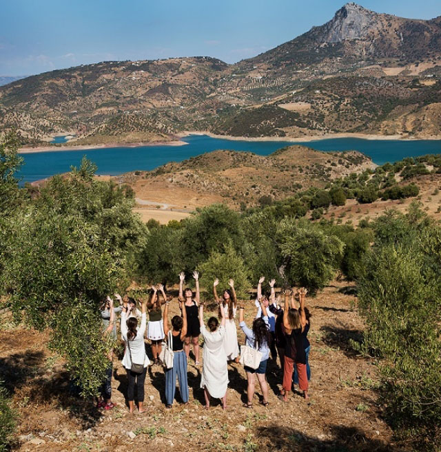 19 to 24 April 2022: Yoga, nature and hiking retreat in Andalusia Prévention Yoga Massage